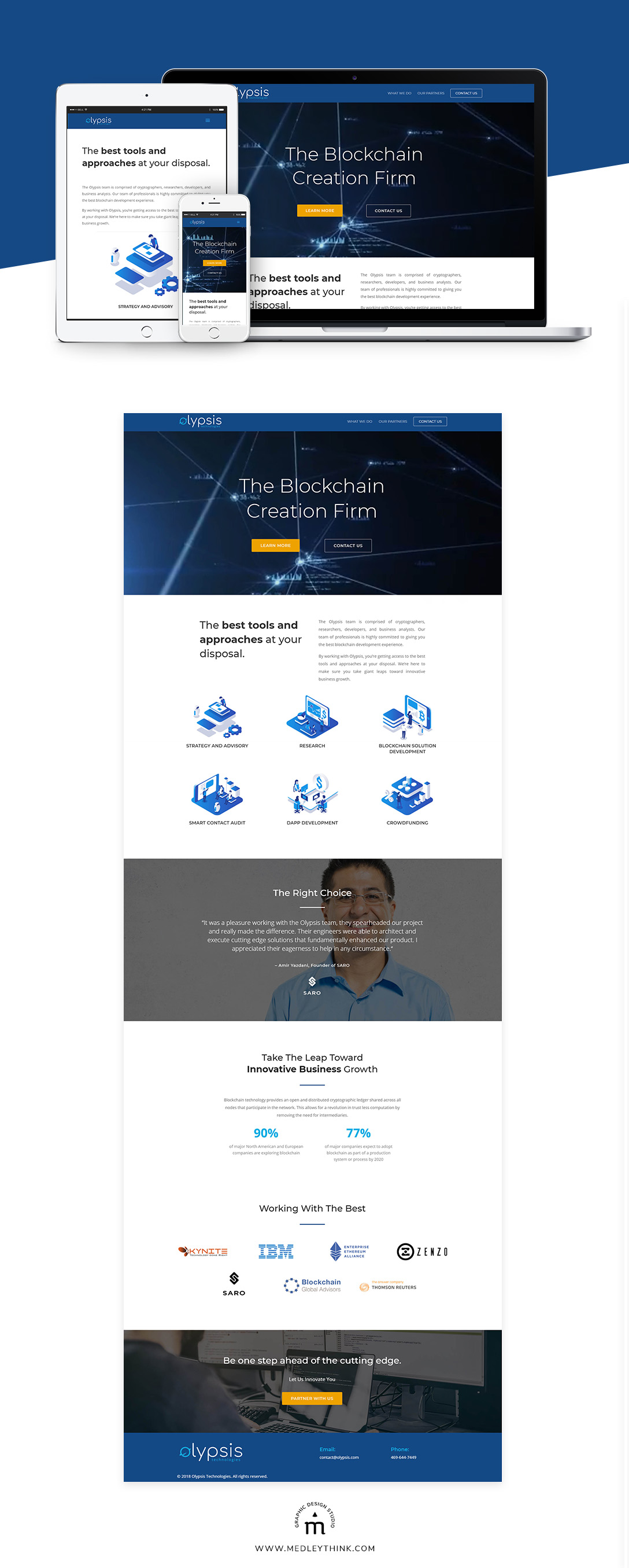 Web Design & Development for Olypsis
