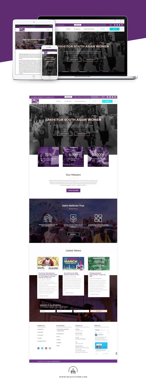 Web Design & Development for Sakhi