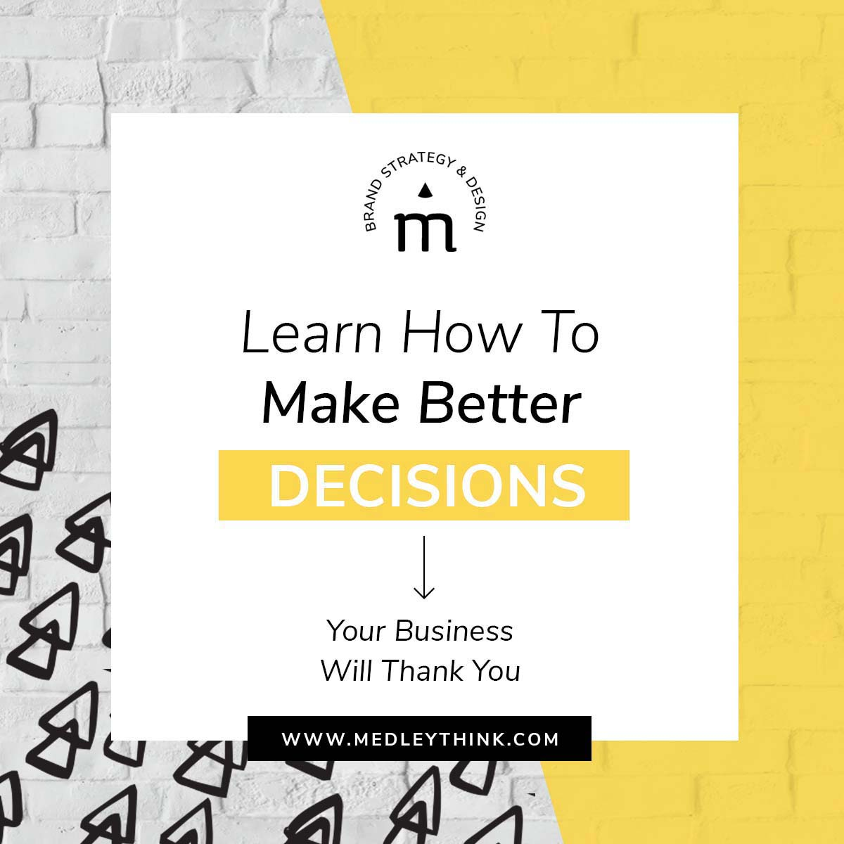 Read how to make better and smarter decisions in your business. Improve your decision-making process by avoiding opinion-driven decisions. #business #decisions #learn #decisionprocess