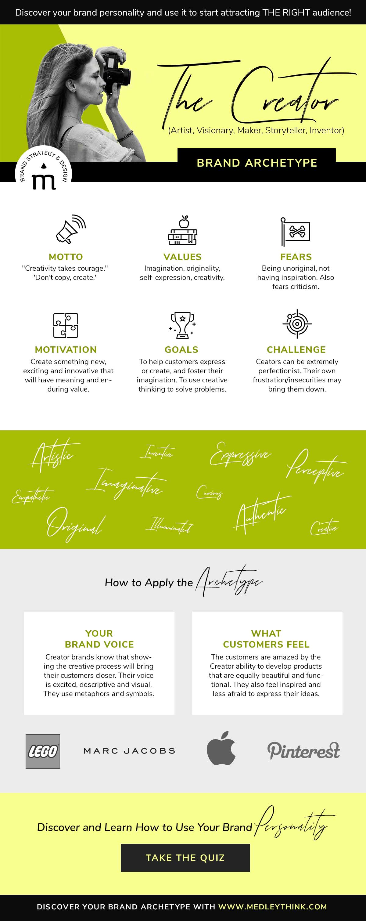Creator Brand Archetype // Get confident about your brand personality