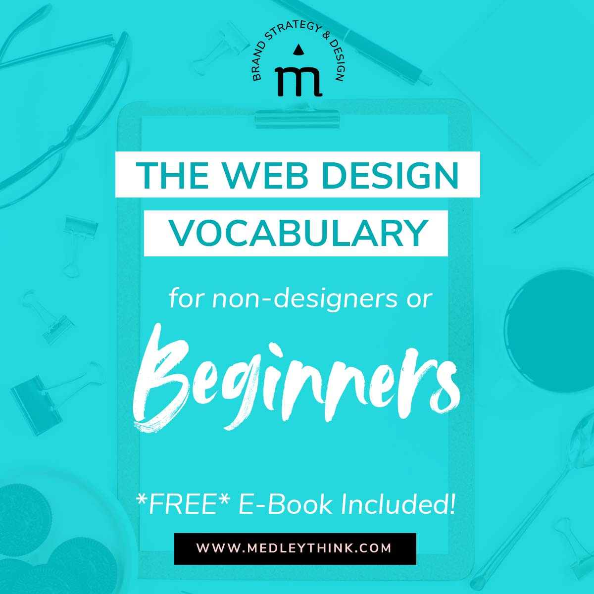 Are you DIYing your website or working with a designer for the first time, it can feel seriously overwhelming to even know how to speak the language! #webdesign #website #diywebsite #wedsitedesign