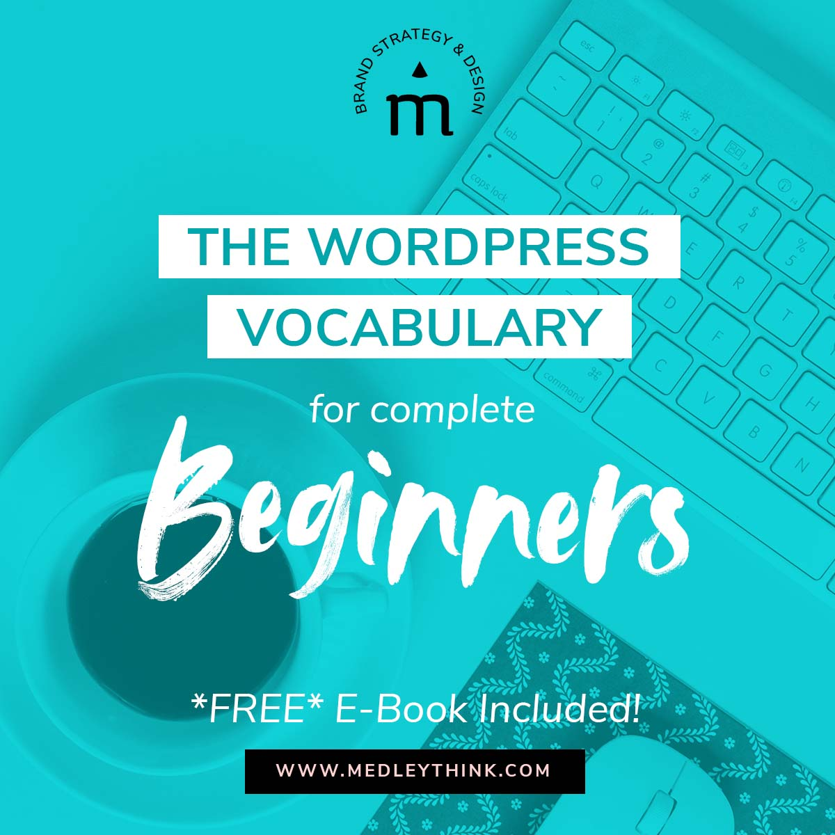 Are you DIYing your website? Are you working with Wordpress and not sure where to start? Take a look at our Wordpress vocabulary for beginners! #diywebsite #wordpress #websitedesign
